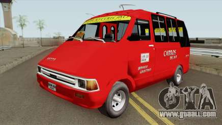 Toyota Hilux Colectivo Colombiano for GTA San Andreas