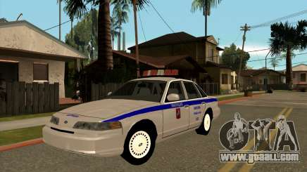 Ford Crown Victoria Police for GTA San Andreas