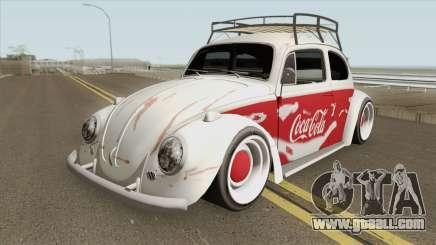 Volkswagen Fusca Coca-Cola Edition for GTA San Andreas
