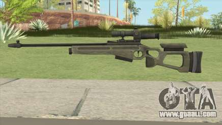 Battlefield 3 SV-98 V2 for GTA San Andreas