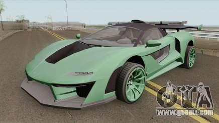 Progen Emerus GTA V (Stock) for GTA San Andreas