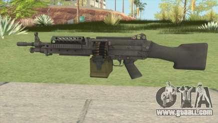 Battlefield 3 M249 for GTA San Andreas
