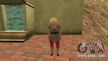 Galina Voronina for GTA San Andreas