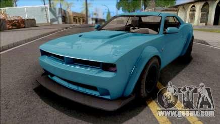 GTA V Bravado Gauntlet Hellfire Stock for GTA San Andreas