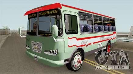 Buseta Chevrolet C30 Modificada for GTA San Andreas