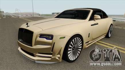 Rolls-Royce Dawn Onyx Concept 2016 for GTA San Andreas