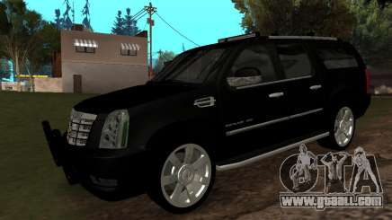 Cadillac Escalade ESV 2008 for GTA San Andreas
