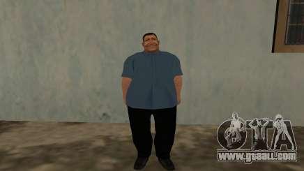 Fatman Rat Man for GTA San Andreas