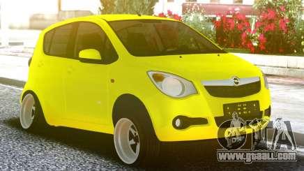 OPEL Agila Yellow for GTA San Andreas