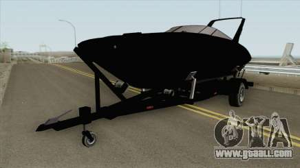 Boat Trailer GTA V for GTA San Andreas