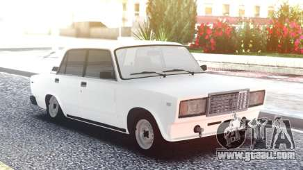 VAZ 2107 White Low for GTA San Andreas