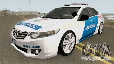 Honda Accord Magyar Rendorseg for GTA San Andreas