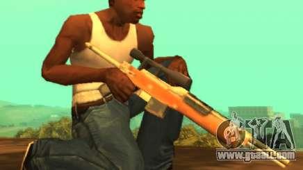 M14 sniper [Sa Style] for GTA San Andreas