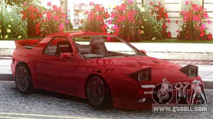 Mazda Savanna RX-7 FC3S Red for GTA San Andreas