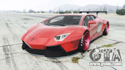 Lamborghini Aventador LP700-4 Liberty Walk for GTA 5