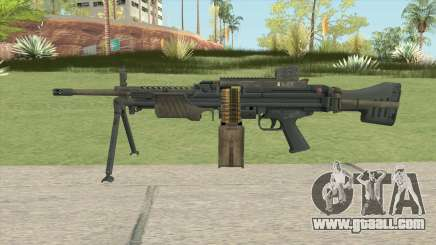 Battlefield 4 MG4 for GTA San Andreas