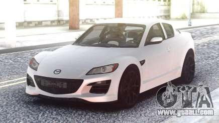 Mazda RX-8 White for GTA San Andreas
