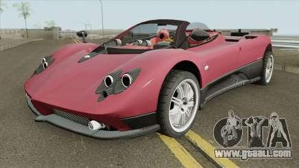 Pagani Zonda F IVF for GTA San Andreas