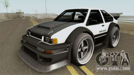 Apex GT85 for GTA San Andreas