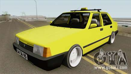 Tofas Dogan L Taxi for GTA San Andreas