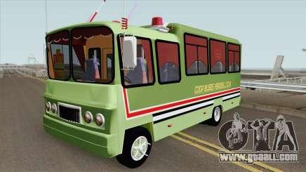 Buseta Clasica (V2) Colombiana for GTA San Andreas