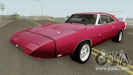 Dodge Charger Daytona 1969 IVF for GTA San Andreas
