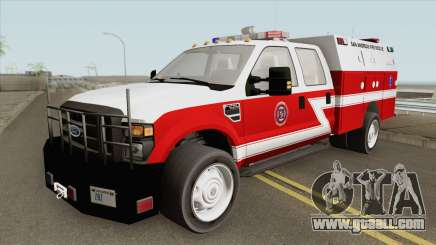 Ford F-250 San Andreas Fire Department 2011 for GTA San Andreas