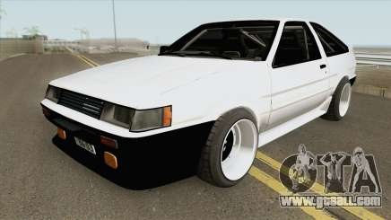 Toyota AE86 Levin 4A-GE for GTA San Andreas