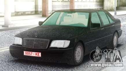 Mercedes-Benz W140 Sedan for GTA San Andreas