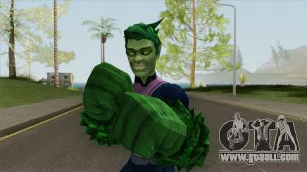 Beast Boy Changeling V3 for GTA San Andreas