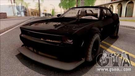 GTA V Bravado Gauntlet Hellfire IVF for GTA San Andreas
