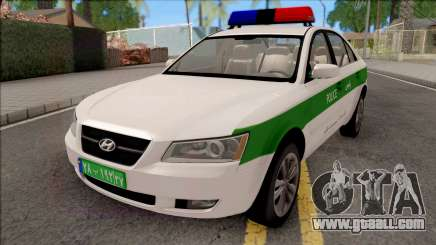 Hyundai Sonata 2009 Police for GTA San Andreas