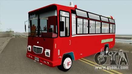 Buseta NPR Superior Colombiana for GTA San Andreas