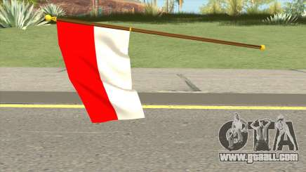 Indonesia Flag for GTA San Andreas