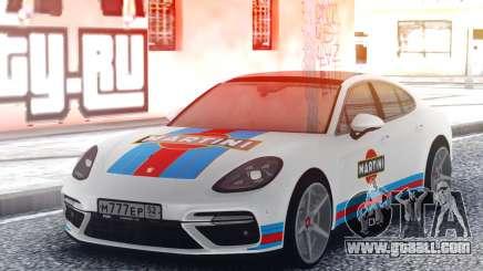Porsche Panamera MARTINI for GTA San Andreas