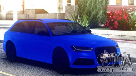 Audi RS6 Avant by Race 6 for GTA San Andreas
