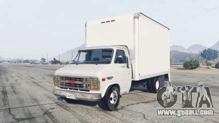 Chevrolet G30 Box Truck for GTA 5