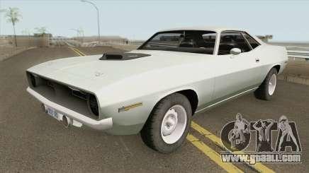 Plymouth Hemi Cuda IVF for GTA San Andreas