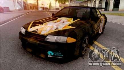 Nissan Skyline GT-R R32 Itasha Juliet Persia for GTA San Andreas