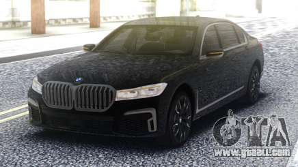 2020 BMW 7 series 740i for GTA San Andreas