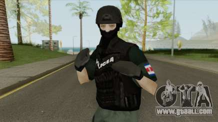 U.E.A Official Costa Rica Police Skin for GTA San Andreas