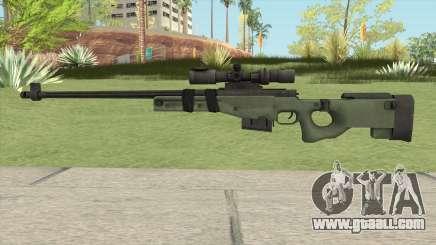 Battlefield 3 L96 Sniper for GTA San Andreas