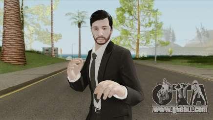 GTA Online Skin The Workaholic V2 for GTA San Andreas