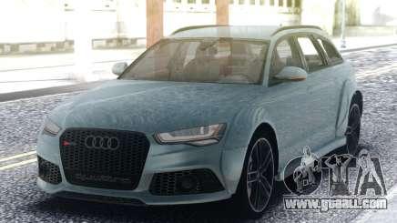 Audi RS6 Turbo for GTA San Andreas