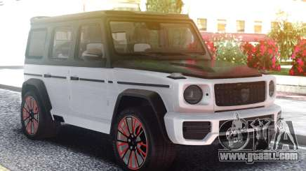Mercedes-Benz G770 CLR Lumma White for GTA San Andreas