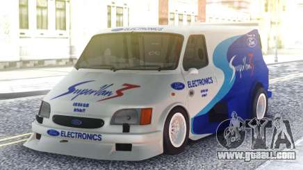 Ford Transit Supervan 3 Custom cars for GTA San Andreas