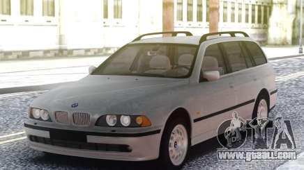 BMW E39 Wagon Touring M57D30 for GTA San Andreas