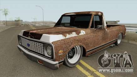 Chevrolet C10 RUST for GTA San Andreas