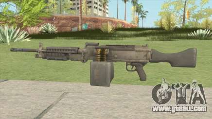 Battlefield 4 M240B for GTA San Andreas