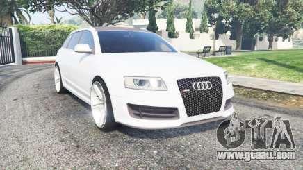 Audi RS 6 Avant (C6) 2008 for GTA 5